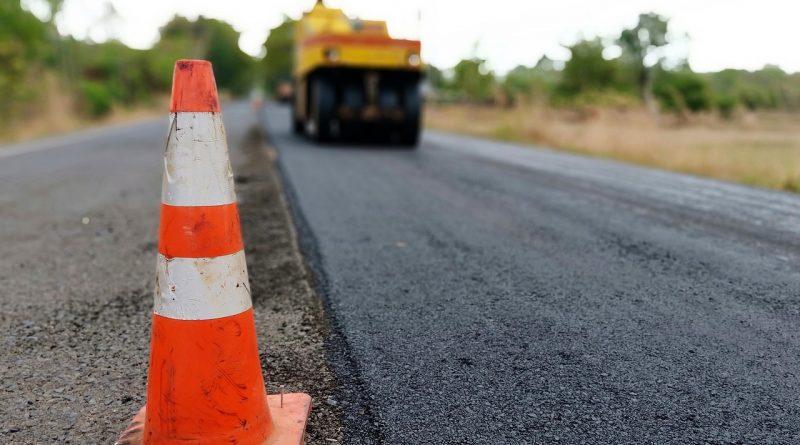 construction, road, asphalt